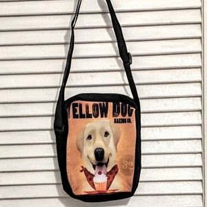 Small Zippered Yellow Labrador Bag NWOT